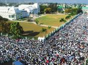 «Haïti périra pas, Haïti doit périr. n'ai pour parler cette douleur immense. C'est dans votre courage nous trouvons force continuer» René Préval, Président d'Haiti exercice