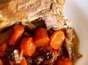 Jarret porc Monbazillac, cuisson très haute température