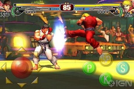 Street Fighter IV bientôt sur iPhone !