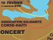 """Concert """"solidarité Haïti"""" jeudi soir partir l'Université Corse."""