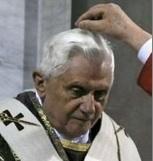 Carême 2010 - Les cendres du pape Benoît XVI