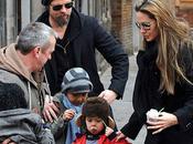 Brad Pitt Angelina Jolie voyage Venise
