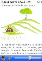 Le Petit Prince et le vilain petit canard sur l'iPhone