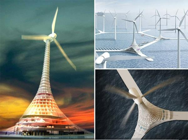 Turbine City - La ville éolienne offshore - 1