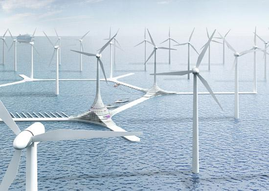 Turbine City - La ville éolienne offshore - 8