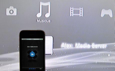 MediaServer : vos contenus iPhone sur votre PS3