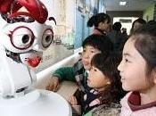 Assistants pédagogiques robotisés Corée