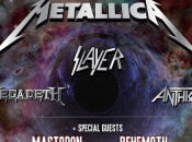 Metallica, Slayer, Megadeth Anthrax route