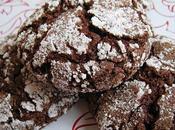 Biscuits craquelés chocolat