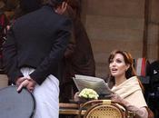 Angelina Jolie Paris pour tournage Tourist
