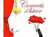 Concerts d'hiver jusqu'au février 2010 mairie (gratuits)