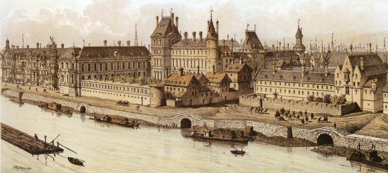 Le louvre du palais au mus e paperblog for Architecte de versailles sous louis xiv