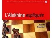 Echecs Livres l'Alekine expliquée