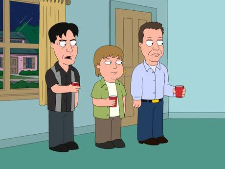 + PROMO : Apercu de Charlie Sheen, Elijah Wood [...] dans Family Guy