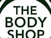 première fois...chez Body Shop.