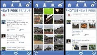 Facebook App maintenant disponible pour le Zune HD