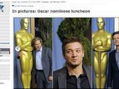 Oscars 2010 nominés passent table