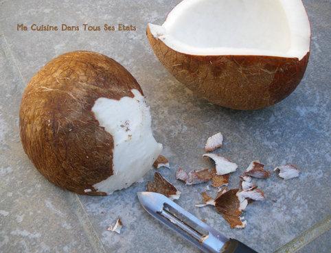 Couper Noix De Coco confiture noix de coco - ouvrir une noix de coco - paperblog