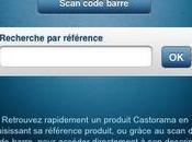 L'application iphone Castorama intègre (entre autres) fonctionnalité lecture code barres.