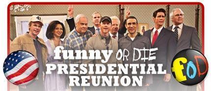 Sketch présidentiel pour Jim Carrey et Will Ferrell
