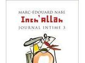 [lu] inch'allah, journal intime marc-edouard nabe