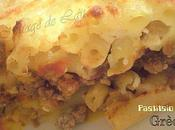 "Pastitsio (Gratin Macaronis Viande ""Grec"") version allégée"