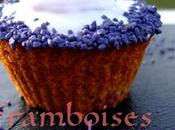 cupcakes framboises violettes