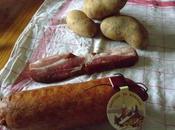 Saucisse Morteau pommes terre
