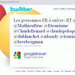Twitter @GoogleTravel