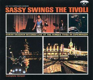 Sarah Vaughan Sassy Swings The Tivoli