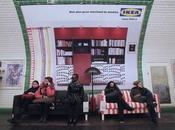 Ikea remplace sièges métro canapés