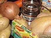 mange quoi demain?Le coquelet dans jus,pommes terre: crème l'orange