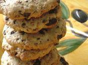 Biscuits sesame-chocolat noir petit retour arriere...