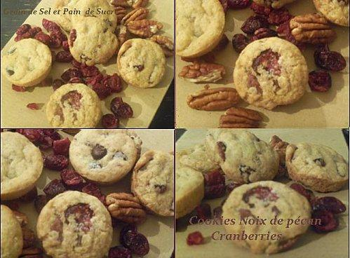 CookiesPecanCranberries