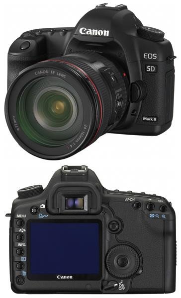 Le firmware 2.0.3 disponible pour le Canon EOS 5D Mark II