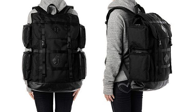 PORTER X WHITE MOUNTAINEERING BLK – BLK PORTER VESUVIO BACKPACK