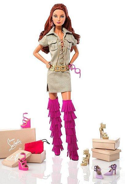 Christian Louboutin Safari cut out with shoes
