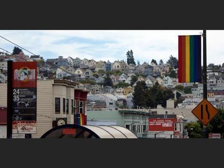 Castro, le quartier « gay » de San Francisco, aux Etats-Unis.