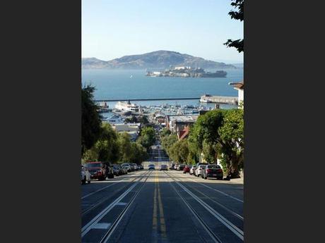 Hyde Street, à San Francisco, aux Etats-Unis.
