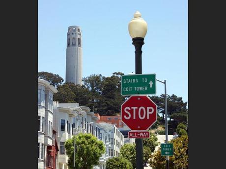 Coit Tower à San Francisco, aux Etats-Unis
