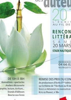 la 5ème édition du printemps des auteurs avec de nombreux invités