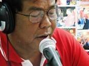 Manifestation chemises rouges renforts sont route pour Bangkok