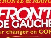 Liste d'union Gauche: Meeting Ajaccio soir.