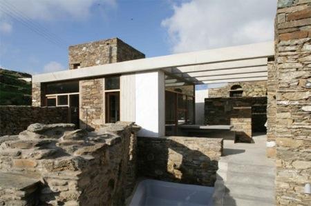 Maison tinos par mx architecture voir - Maison en pierre giordano hadamik architects ...