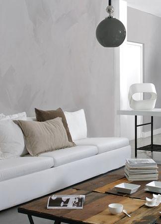 Enduit lisse métallisé, Maison décorative, INDUSTRIE - Paperblog