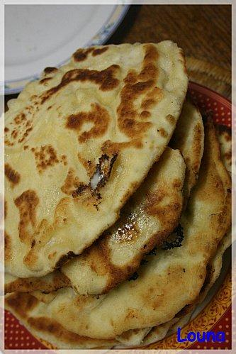 naan aux fromage