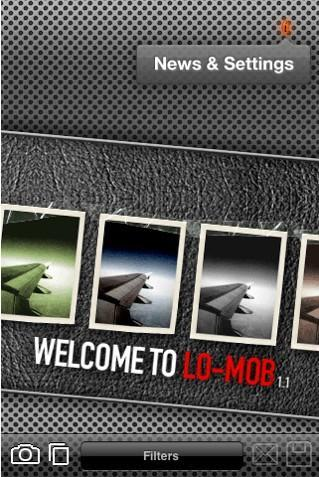Lo-mob – les effets photos sur l'iPhone
