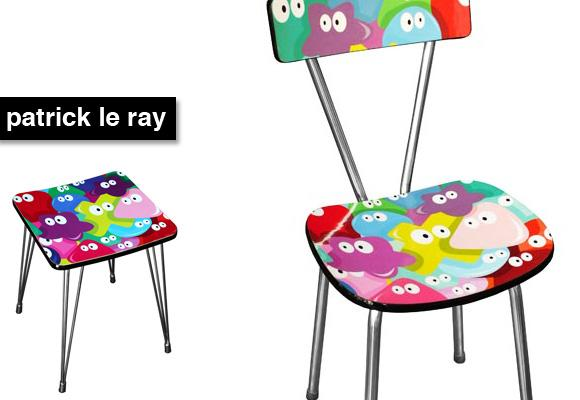 © PATRICK LE RAY & JULIEN BODECHON // sweety chair