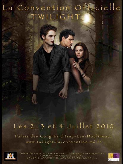Convention Twilight 2010 en France,les Pass sont en vente!