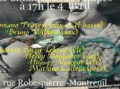 Pratesi Wilhelm; Boubaker Lebrat Vincent Calleja (dimImpro avril)